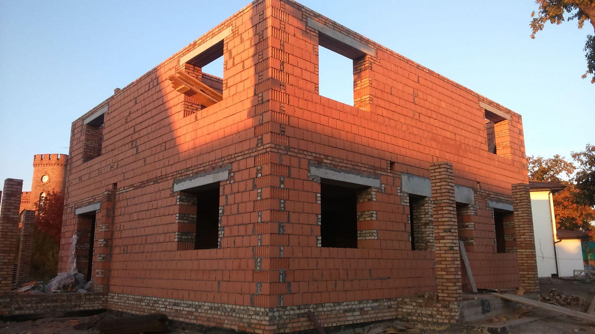 строительство дома из керамических блоков фото фокаччи